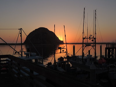 Morro Rock Sunset | Morro Bay, BA