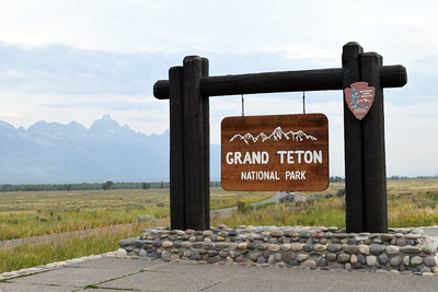 Welcome Sign | Grand Teton National Park