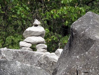 Rock Cairn | Yosemite National Park