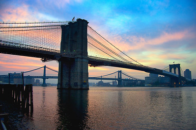 Brooklyn Bridge Dawn
