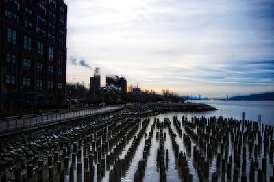Yonkers Pier Pilings