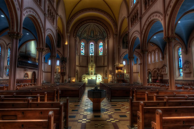 St. Mary's Yonkers Main Room