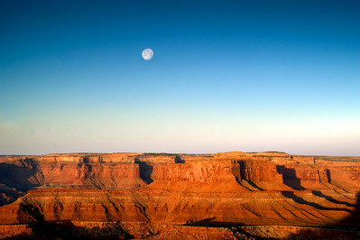 Moon Over Dead Horse Point