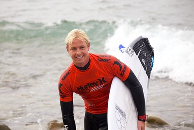Nat Young Happy With His Performance at the Hurley Pro Trestles 2013