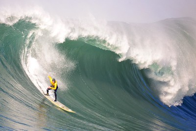 Greg Long at Mavericks