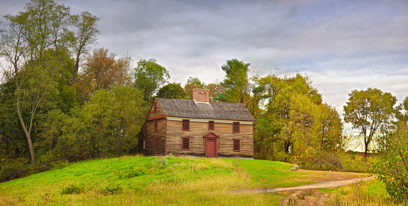 New England Architecture: Captain William Smith House, ca 1692, Lincoln, Middlesex County, Massachusetts