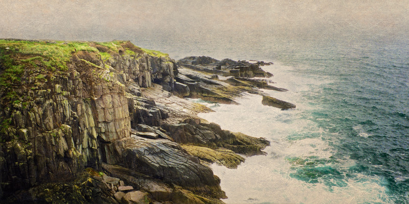 Cliffs Off of Dunbeg Fort