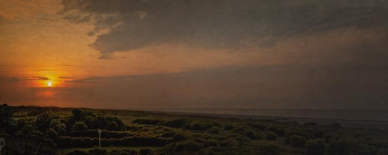 South Carolina Seascapes: Sunrise on the Beach, Sullivan's Island, Charleston, South Carolina