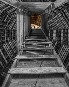 Leonard Barn Access Chute