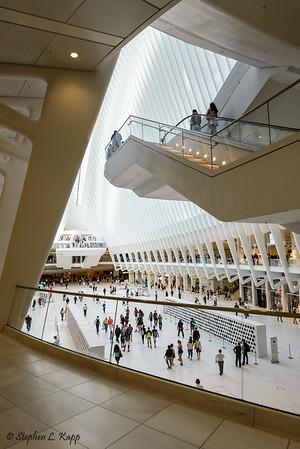 Inside the Oculus - Westfield World Trade Center