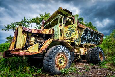 "Abandoned ""Super"" Dump Truck"