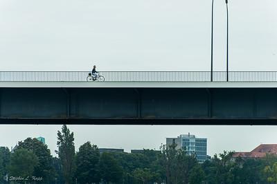 "Nordbrücke North Bridge (""Theodor Heuss Bridge"")"