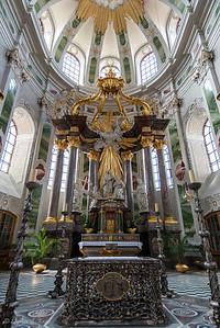 Golden Artwork, Mannheim Jesuit Church