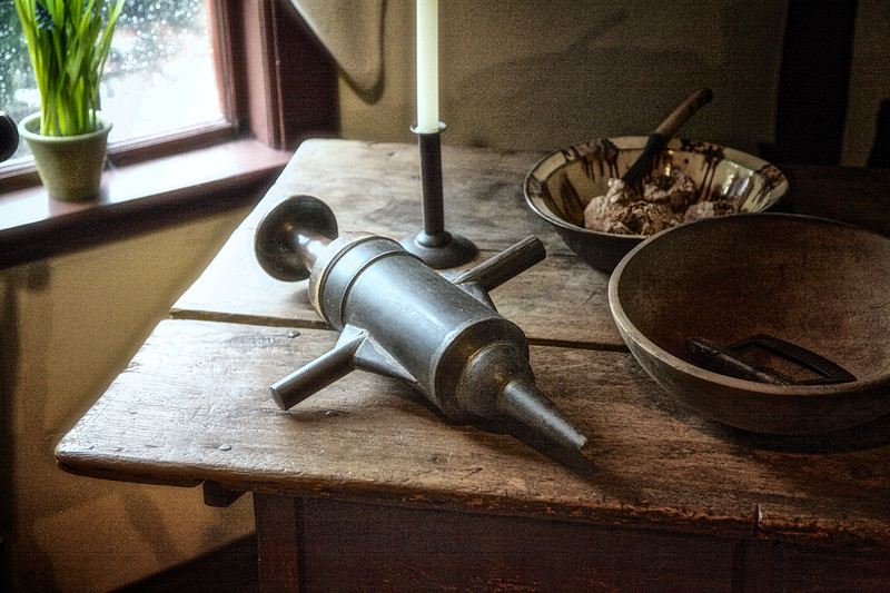 Salem Landmarks: Kitchen Utensils, Nathaniel Hawthorne's Birthplace
