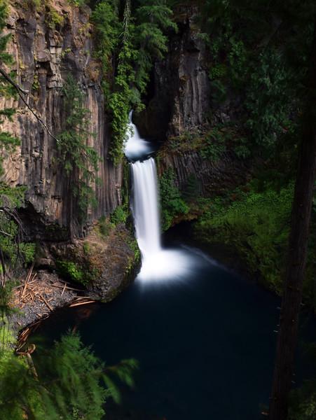 Toketee Falls   Umpqua National Forest, Oregon