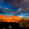 Buttes From Panaroma Point UT 6:26 PM