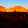 Panorama Point, UT Sunset & moon rising 6:52 AM
