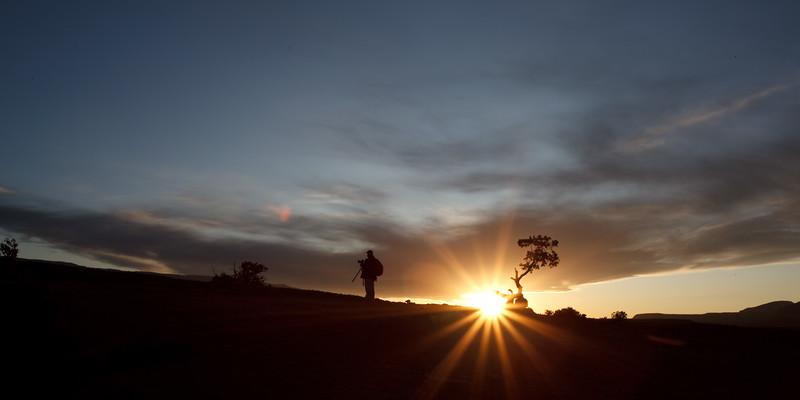 Panorama Point, UT Sunset 6:53 PM