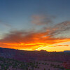 Panorama Point, UT Sunset 7:03 PM