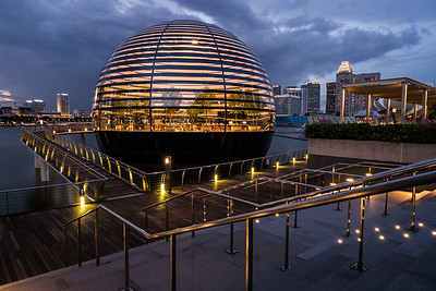 The Apple Marina Bay Sands in Singapore.