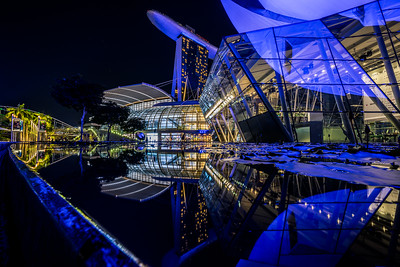 Futuristic Sci-Fi City.