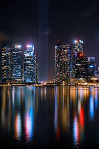 """Shine a light"" at Marina Bay."