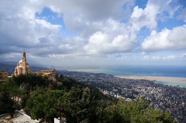 Her view - Our Lady of Lebanon
