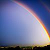 Morning Rainbow over Austin