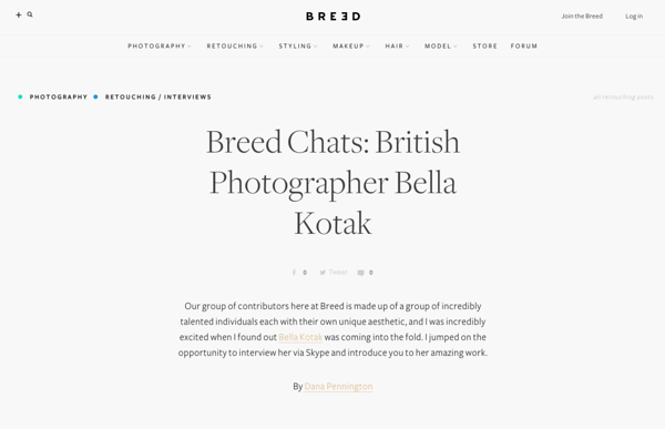 Breed Interview - Dec 2015