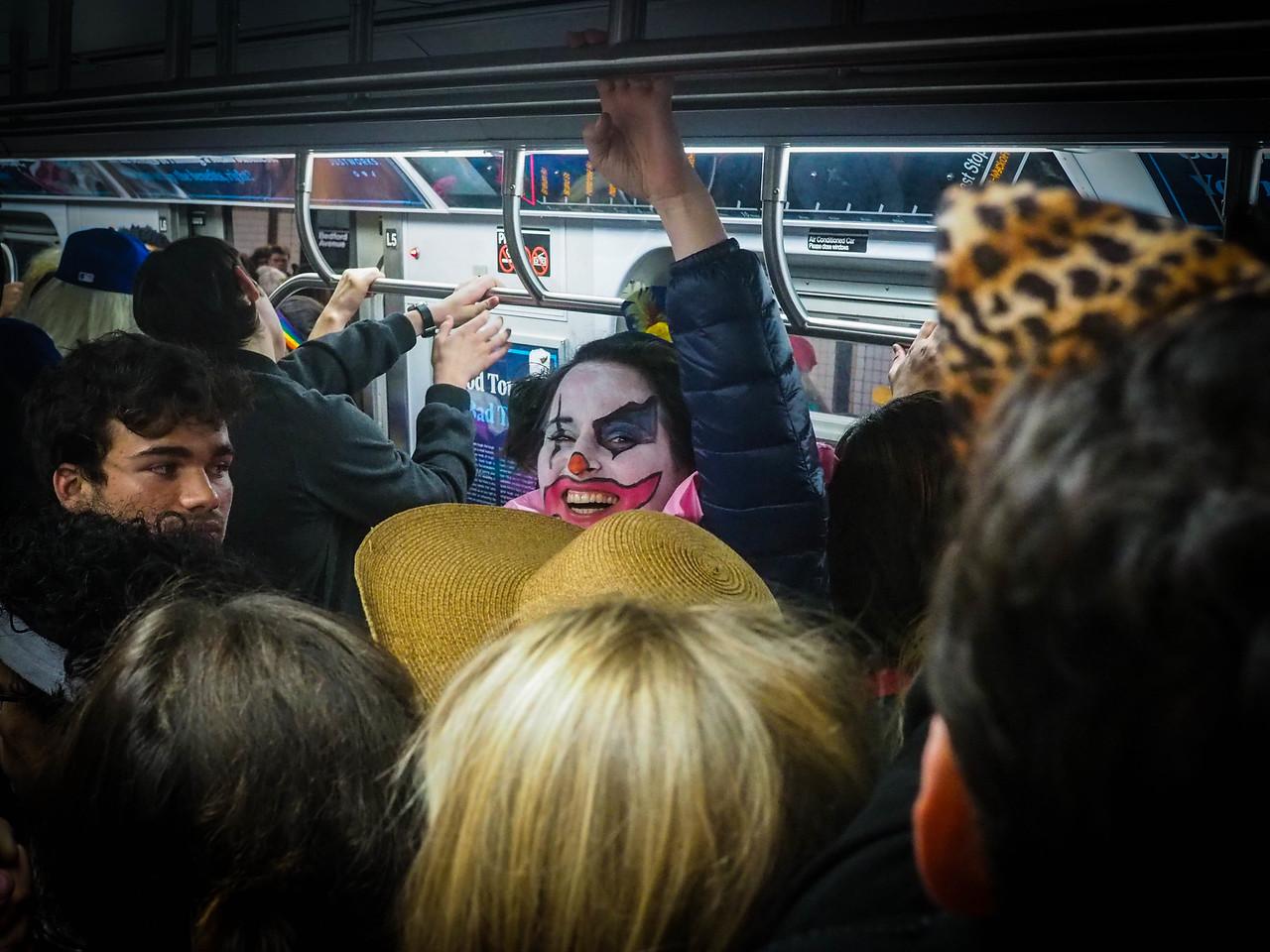 Halloween Clown - Brooklyn - Oct 2015