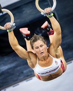 """Tia Clair Toomey in the final Event """"The Standard"""""""