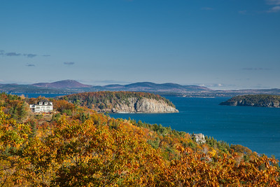 Frenchman's Bay & Porcupine Islands, Mount Desert Island, Acadia National Park