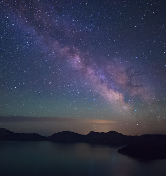 Crater Lake Time Lapse