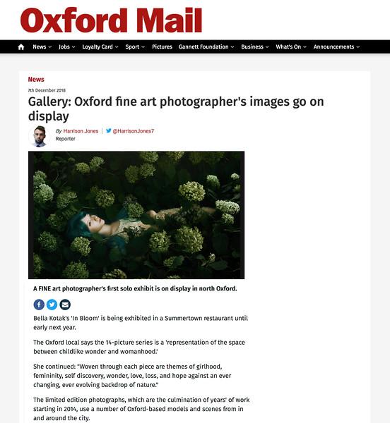 Oxford Mail - Dec 2018