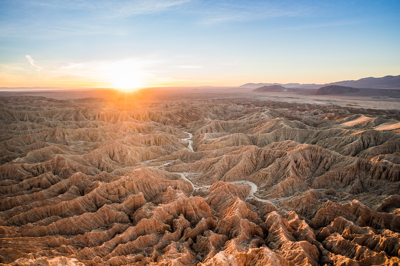 Anza Borrego Badlands, California
