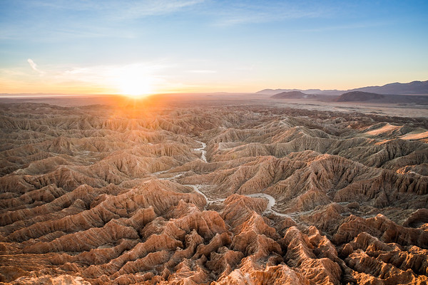Anza Borrego Badlands, California