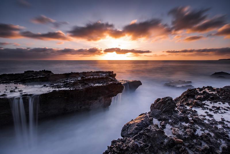 Sunset over Laguna Beach, California