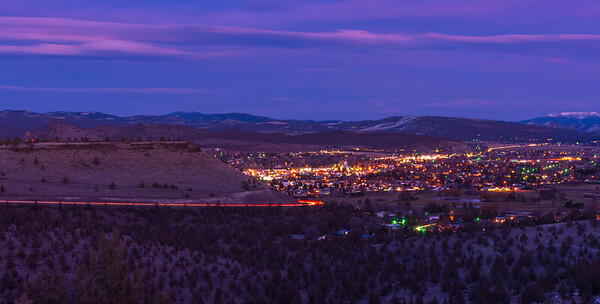 Prineville by Night