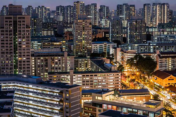 Public Housings in Singapore.