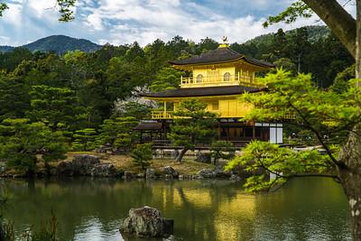 Golden Pavilion in Kyoto Japan