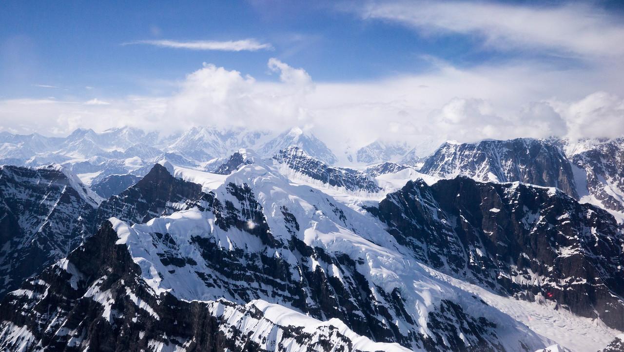 Glacial Landing on Mt McKinley