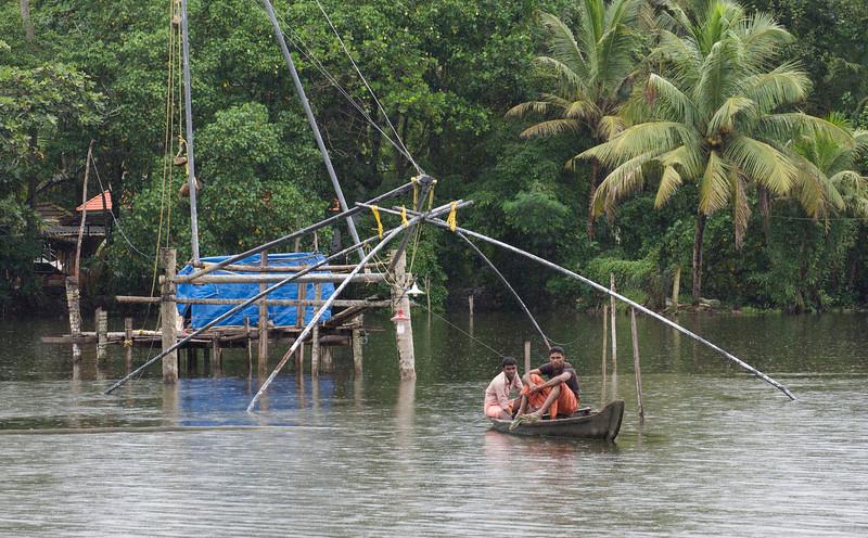 Fishermen, Vembanadu Lake