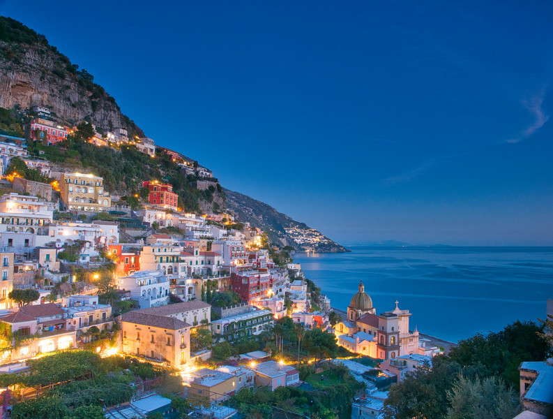 East from Positano