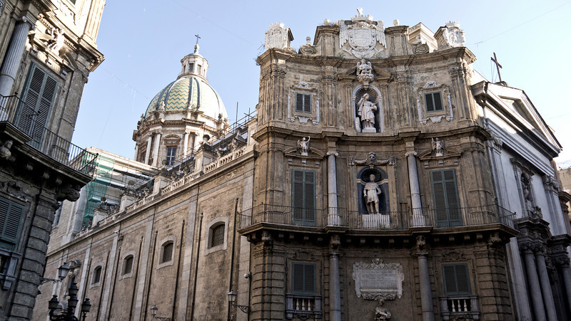 Quattro Canti Palermo Sicily