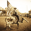 Cowboy at Rodeo at Bandera Texas #1