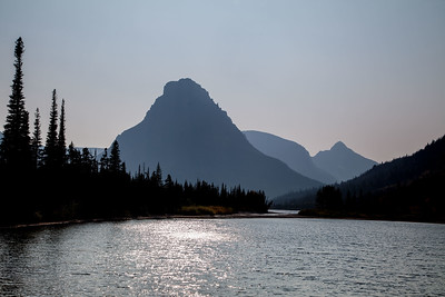 Sinopah Mountain and Two Medicine Lake
