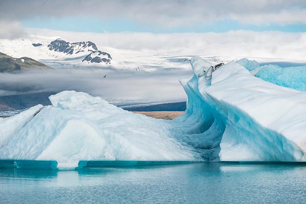 Jökulsárlón Glacier Lagoon, Southern Region, Iceland 2017