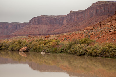 Colorado River at Hittle Bottom,  Colorado Riverway National Recreation Area, Moab, UT
