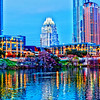 Downtown Austin from Town Lake