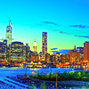 View of Lower Manhattan from the Brooklyn Heights Promenade at Brooklny New York #5